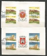 Portugal   1986  Mi.Nr. 1699 / 00 MH - Burgen Und Schlösser - On Paper - Gestempelt / Used / (o) - Libretti
