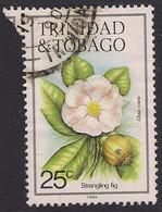 Trinidad & Tobago 1983 - 89 QE2 25ct Strangling Fir Flower SG 690 ( J1447 ) - Trinidad & Tobago (1962-...)