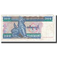Billet, Myanmar, 100 Kyats, KM:74a, TB - Myanmar