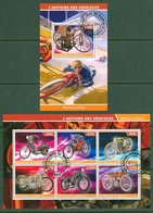 Transport Motor Bike Motorcycle Norton Dnepr BMW  2s/s 2015 - Private Issue - Fantasie Vignetten