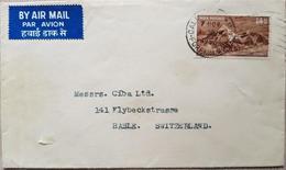 India Calcutta 1953 Switzerland - Indien
