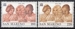 San Marino 1976 Uf. 971/972 UNESCO Serie Completa MNH - UNESCO