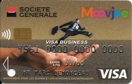 -CARTE+-PUCE-MAGNETIQUE-CB-SOCIETE GENERALE-FACTICE-OT.01-06/16-TBE-RARE - France