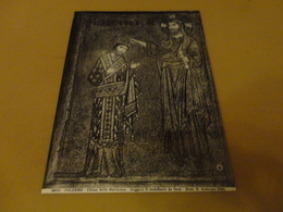 FOTO PALERMO - CHIESA DELLA MARTORANA - RUGGERO II INCORONATO DA GESU' (STAB.D.ANDERSON 1929) 25X20 CENTIMETRI - Luoghi