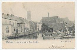 Picture Postcard Malines Belgium 1908 - Mechelen