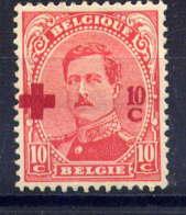 BELGIQUE - 153* - CROIX ROUGE / ALBERT 1er - 1918 Rotes Kreuz