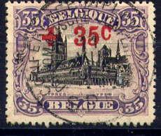 BELGIQUE - 157° - CROIX ROUGE / HALLE AUX DRAPS D'YPRES - 1918 Rotes Kreuz