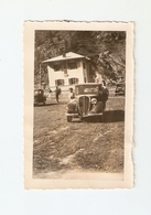 FO--150-- FOTO ORIGINALE - AUTO NON IDENTIFICATA - BIMBI  GITA IN MONTAGNA - Automobili