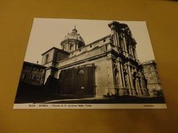 FOTO ROMA- CHIESASAN ANDREA DELLA VALLE  (STAB.D.ANDERSON) 25X20 CENTIMETRI-ANNI 30 - Luoghi