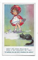 """Agnes  Richardson  -  """"  Don,t Cry  Over  Spilt  Milk """"   """"  Le  Malheur  Des  Uns  Fait  Le  Bonheur  Des  Autres ! """" - Illustrateurs & Photographes"""