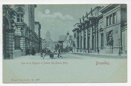 Picture Postcard Bruxelles  Belgium - Lanen, Boulevards