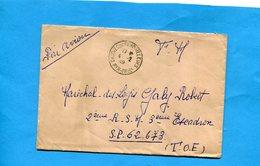 Marcophilie-lettre En FM >Françe-cad-1949-Caudie Sur Fenouilleuse Pour INDOCHINE-SP  62673 - Marcophilie (Lettres)