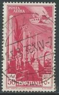 1931-32 TRIPOLITANIA POSTA AEREA USATO SOGGETTI AFRICANI 50 CENT - I47-2 - Tripolitania