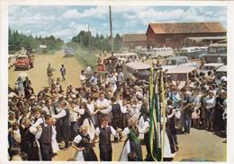 DAS WIZENFEST IN GUARAPUAVA, BRASILIEAN. DEUTSCHES WIRKEN IN DER WELT. CPA 1980's - BLEUP - Brésil