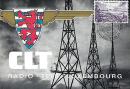 16.6.1988  -  RADIO - TÉLÉ  -  LUXEMBOURG   -   CLT - Cartes Maximum