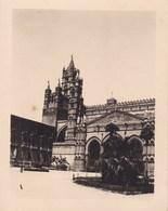 PALERMO PALERME SICILIA Cathédrale 1926 Photo Amateur Format 7,5 Cm X 5,5 Cm - Luoghi