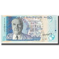 Billet, Mauritius, 50 Rupees, 1999, KM:50a, NEUF - Mauricio