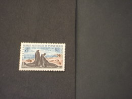 T.A.A.F. - 1959/63 ELEFANTI MARINI 8 F. - NUOVO(++) - Terre Australi E Antartiche Francesi (TAAF)