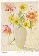 AK Erich Stegmann - Sommerstrauß - Mit Dem Munde Gemalt - Werbestempel Magnet Düsseldorf - 1951 (41756) - Paintings