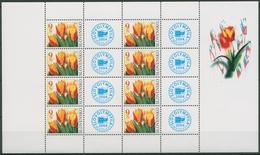 Slowakei 2004 Grußmarke Blumen Tulpe Kleinbogen 479 K Postfrisch (C90855) - Blocks & Kleinbögen