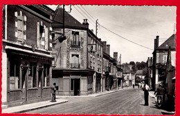 -- VAILLY Sur SAULDRE (Cher) - LA GRANDE RUE / QUINCAILLERIE - CHAUSSURES / JAMES / -- - Other Municipalities