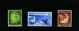 NEW ZEALAND - 1958  HAWKES BAY CENTENARY  SET  MINT NH - Nuova Zelanda