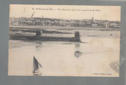 CPA (35) Saint-Servan-sur-Mer - Vue Générale Prise Des Remparts De St-Malo - Saint Servan