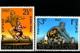 NEW ZEALAND - 1967 RUGBY  SET MINT NH - Nuova Zelanda