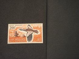 COTE DES SOMALIS - P.A, 1960 UCCELLO - NUOVO(++) - Costa Francese Dei Somali (1894-1967)