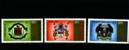 NEW ZEALAND - 1971  CITY CENTENARIES  SET  MINT NH - Nuova Zelanda
