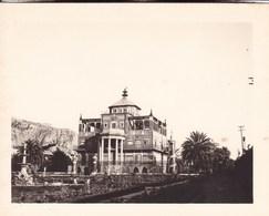 PALERMO PALERME SICILIA La Favorite 1926 Photo Amateur Format 7,5 Cm X 5,5 Cm - Luoghi
