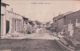 VILLERS Sur MEUSE Rue Basse - France