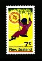 NEW ZEALAND - 1971  UNICEF  MINT NH - Nuova Zelanda