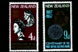 NEW ZEALAND - 1967 POST OFFICE SAVINGS BANK  SET MINT NH - Nuova Zelanda