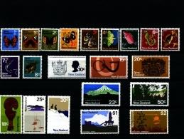 NEW ZEALAND - 1970-71  FIFTH PICTORIAL  SET  MINT NH - Nuova Zelanda