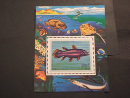 COMORES - BF 1977 PESCE  - NUOVO(++) - Isole Comore (1975-...)