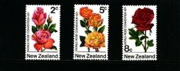 NEW ZEALAND - 1971  ROSE CONVENTION  SET  MINT NH - Nuova Zelanda