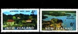NEW ZEALAND - 1969  KERI KERI AND BAY OF ISLANDS  SET  MINT NH - Nuova Zelanda