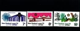NEW ZEALAND - 1970  EXPO  SET  MINT NH - Nuova Zelanda