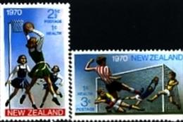 NEW ZEALAND - 1970  SPORT  SET  MINT NH - Nuova Zelanda