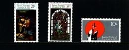 NEW ZEALAND - 1970  CHRISTMAS  SET  MINT NH - Nuova Zelanda