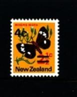NEW ZEALAND - 1971  PROVISIONAL  (TYPO)  MINT NH - Nuova Zelanda