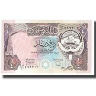 Billet, Kuwait, 1/4 Dinar, KM:11a, NEUF - Koeweit