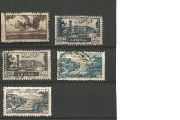 Liban PA 10,27,28,44 Et 45 Oblitérés - Libanon