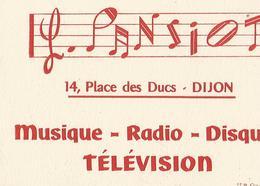 Buvard L Pansiot 14 Place Des Ducs Dijon - Autres