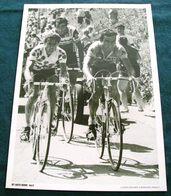 TOUR DE FRANCE         PERSFOTO       ZWARTWIT              LUCIEN VAN IMPE & BERNARD HINAULT - Cyclisme