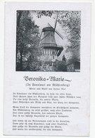 Picture Postcard Mühlenberg Germany - Windmill - Bad Bentheim