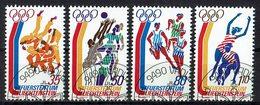 *Liechtenstein 1976 // Mi. 651/654 O - Sommer 1976: Montreal