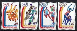 *Liechtenstein 1976 // Mi. 651/654 ** - Sommer 1976: Montreal
