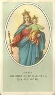 """4222""""MARIA AUXILIUM CHRISTIANORUM ORA PRO NOBIS-NOVENA A MARIA AUSILIATRICE""""  ORIGINALE - Santini"""